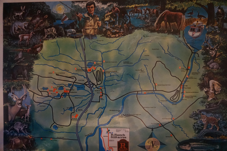 The Ranch Links Map u2013 R Ranch u2013
