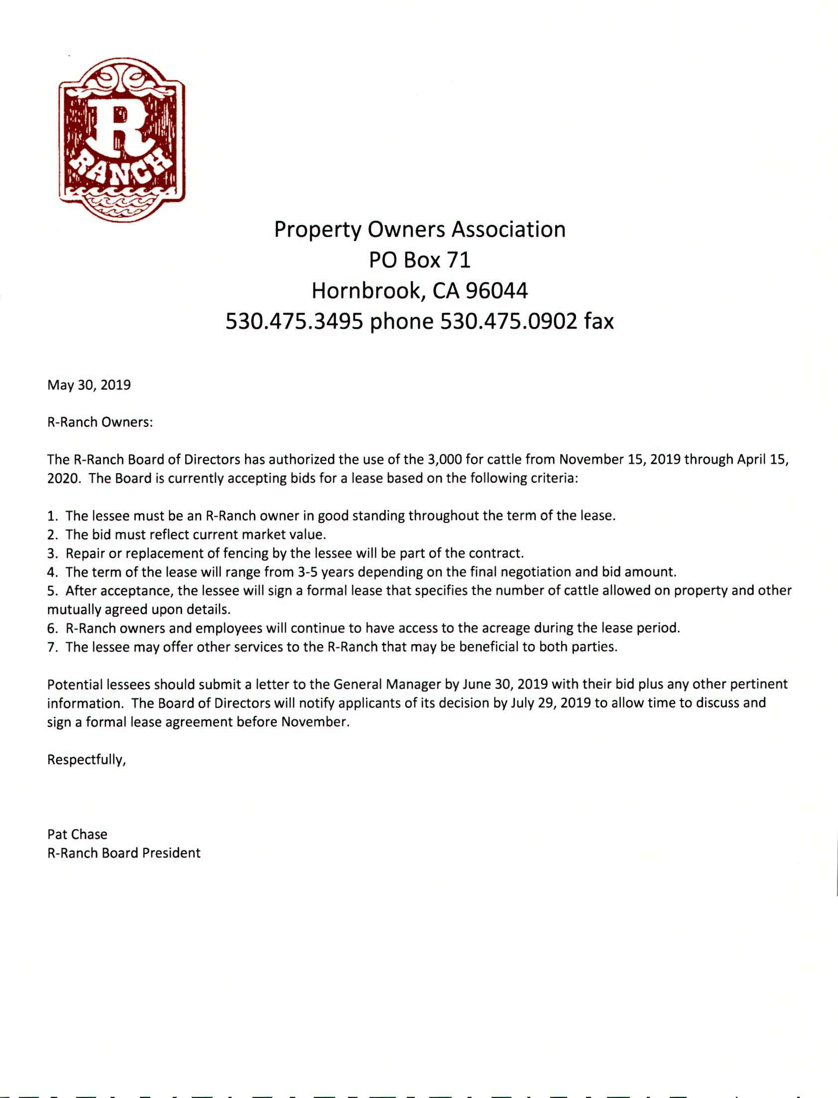 Cattle Lease Of 3000 For Owners R Ranch Own A Piece Of